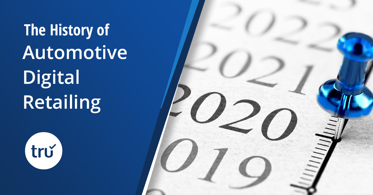 The History of Automotive Digital Retailing